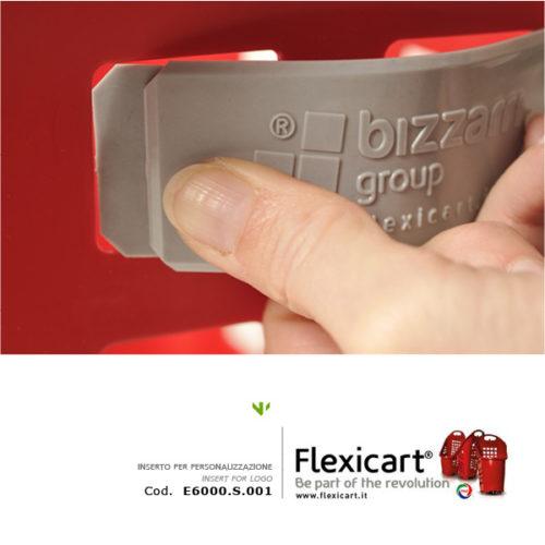 INSERTO LOGO per Flexicart