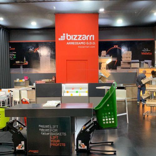 Cartup Ascensore Flexicart Bizzarri Host Milano Arredo Grande Distribuzione